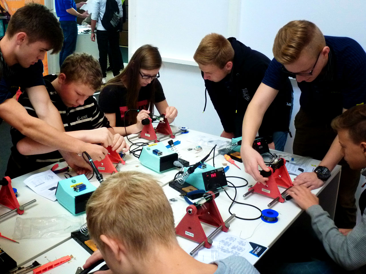 Soldering workshop